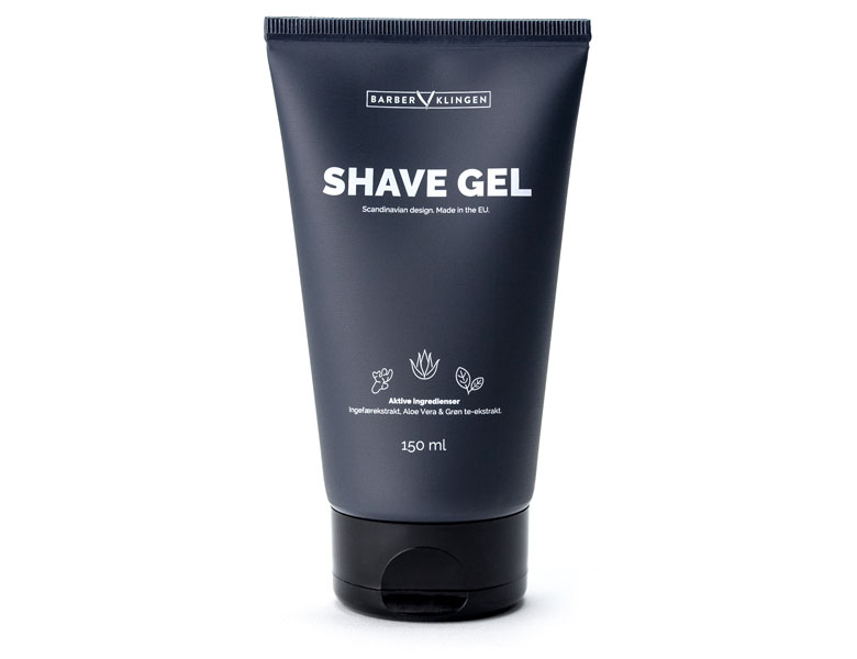 Barberklingen rakblad shave gel rak gel